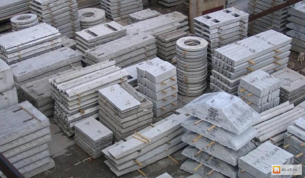 Ferro-concrete products handling