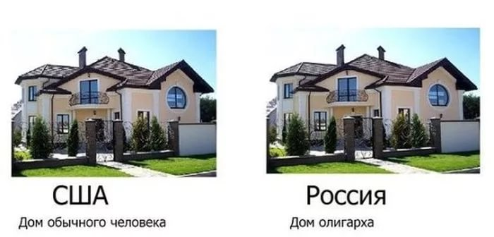 logo Russian and American homes